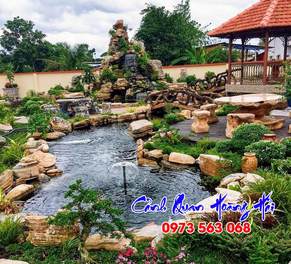 Thi công hồ cá koi TP HCM