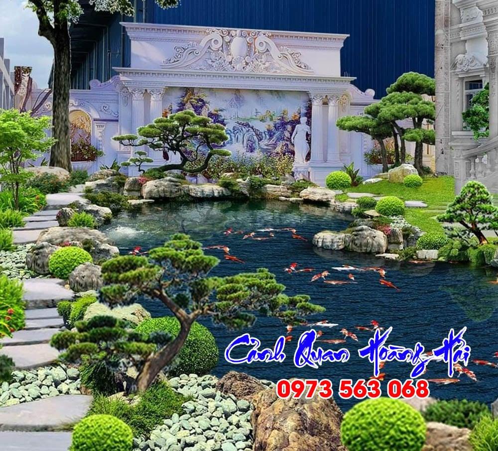 Hồ cá koi biệt thự Royal HCM