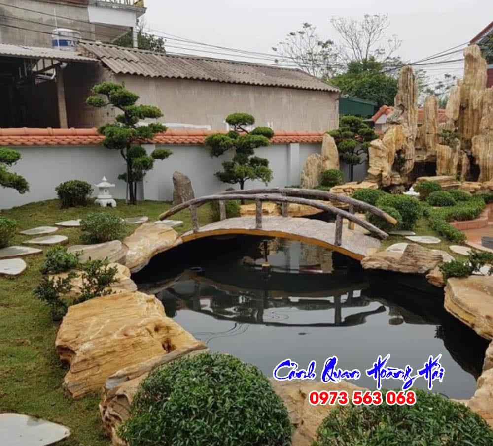 Hồ cá koi biệt thự tại Bình Phước