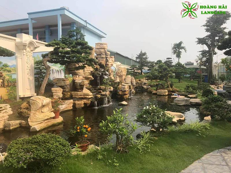 Hòn non bộ sân vườn Tây Ninh