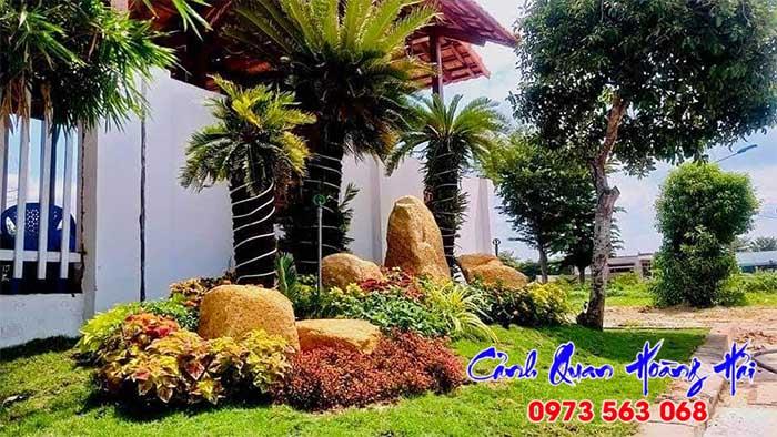 Thiết kế thi công tiểu cảnh sân vườn Tây Ninh