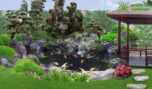 Thiết kế thi công tiểu cảnh sân vườn tại TPHCM