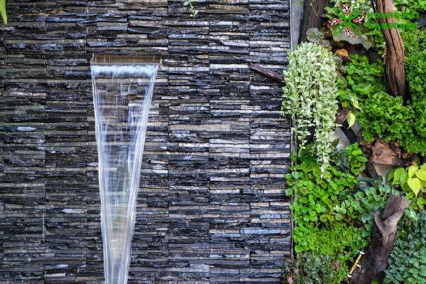 Thiết kế thi công tường thác nước Tây Ninh