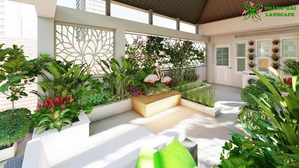 Tổng hợp mẫu tiểu cảnh sân vườn đẹp - Hình 6