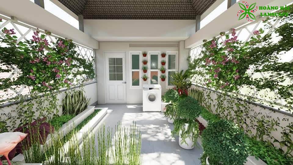 Tổng hợp mẫu tiểu cảnh sân vườn đẹp - Hình 8