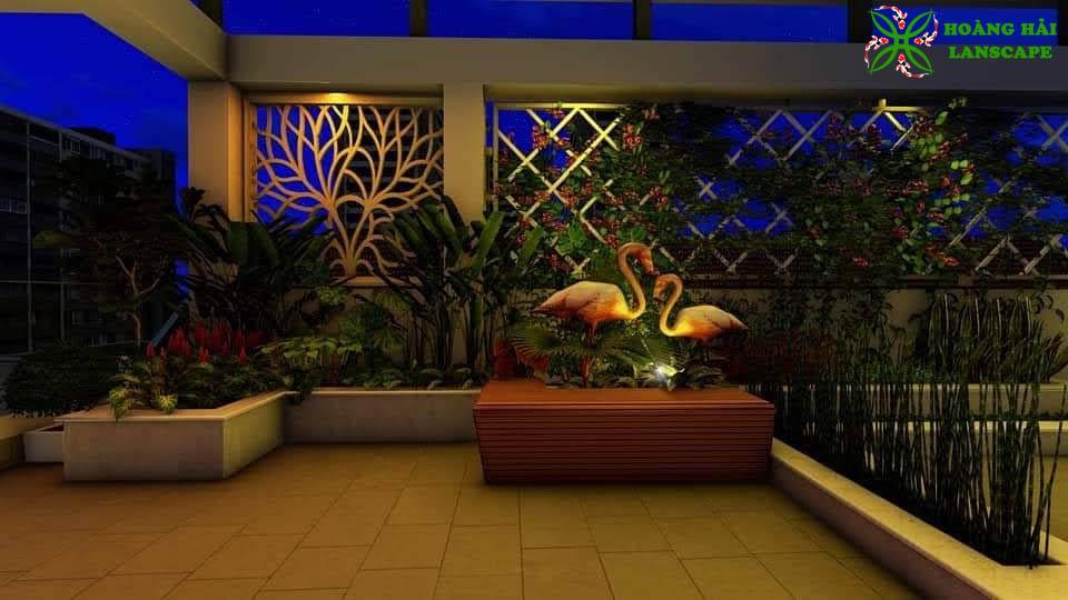 Tổng hợp mẫu tiểu cảnh sân vườn đẹp - Hình 9