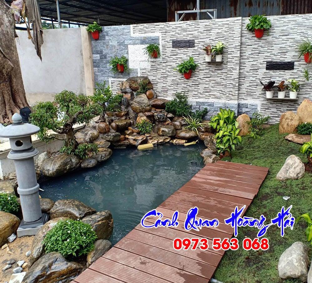 Hồ cá koi nhà anh Thanh TP HCM