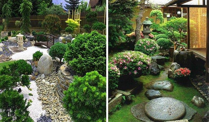 Mẫu sân vườn biệt thự Nhật Bản 03