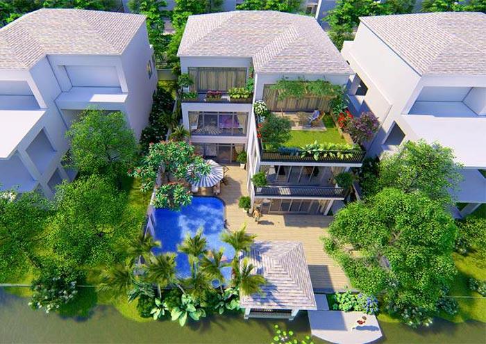 Mẫu thiết kế sân vườn đẹp 04