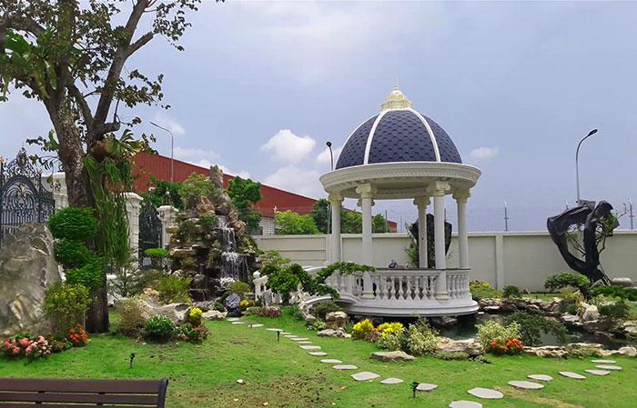 Mẫu thiết kế sân vườn đẹp 06