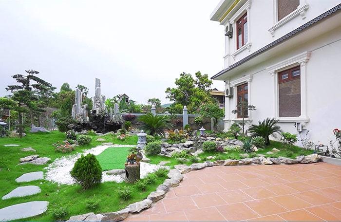 Mẫu thiết kế sân vườn đẹp 07