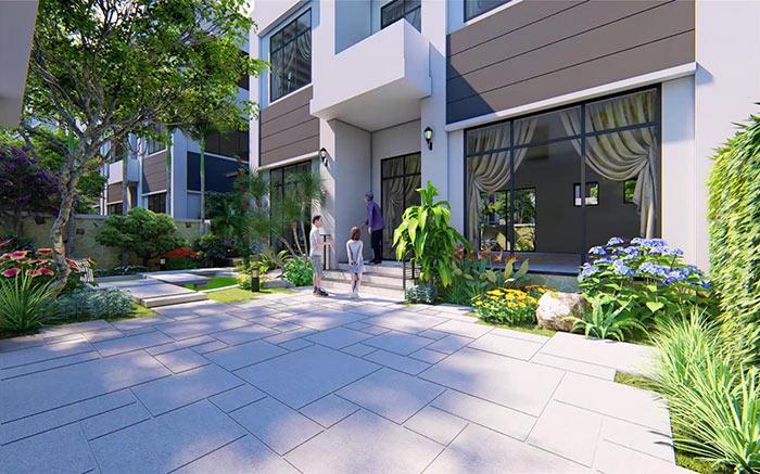 Mẫu thiết kế sân vườn đẹp 08