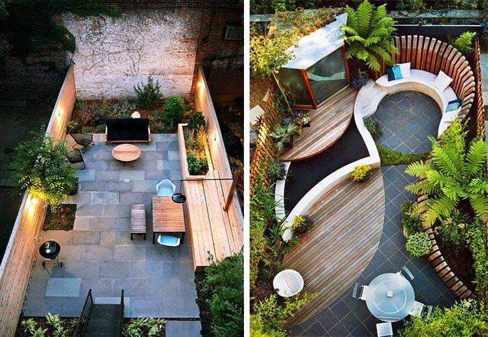 Mẫu thiết kế sân vườn sau nhà 03