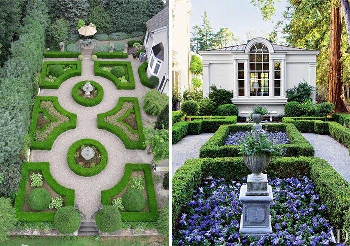 Sân vườn thiết kế theo phong cách Châu Âu 01