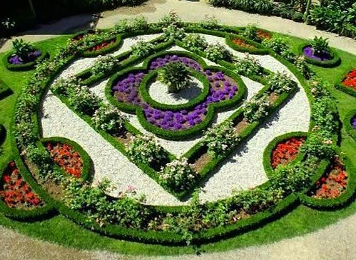 Sân vườn thiết kế theo phong cách Châu Âu 02