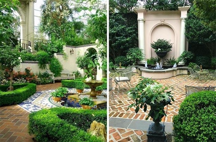Sân vườn thiết kế theo phong cách Châu Âu 03