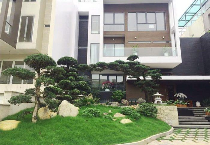 Thiết kế sân vườn trước nhà 02