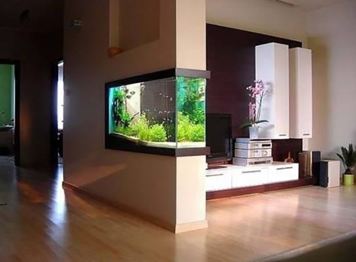 Tiểu cảnh hồ cá trong nhà 10