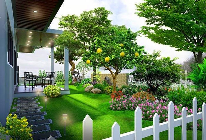 Tổng hợp mẫu sân vườn đẹp 03