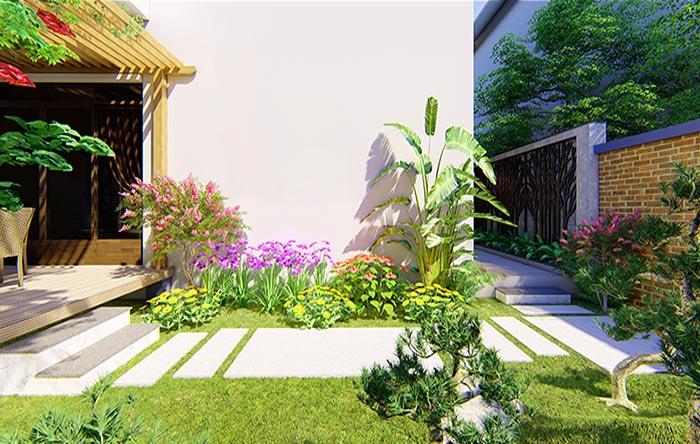 Tổng hợp mẫu sân vườn đẹp 11