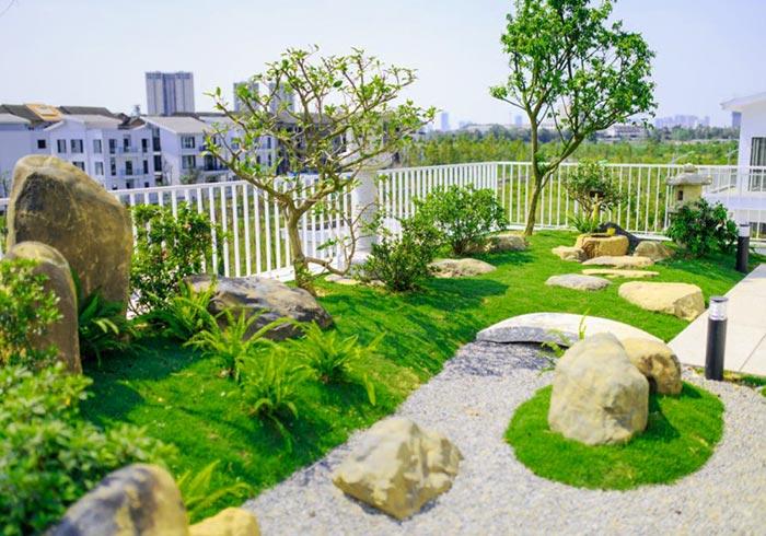 Tổng hợp mẫu sân vườn đẹp 15