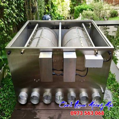 Hệ thống lọc drum filter