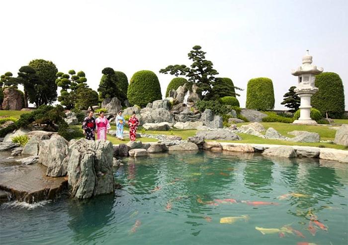 Hồ cá koi Rin Rin Park - H1