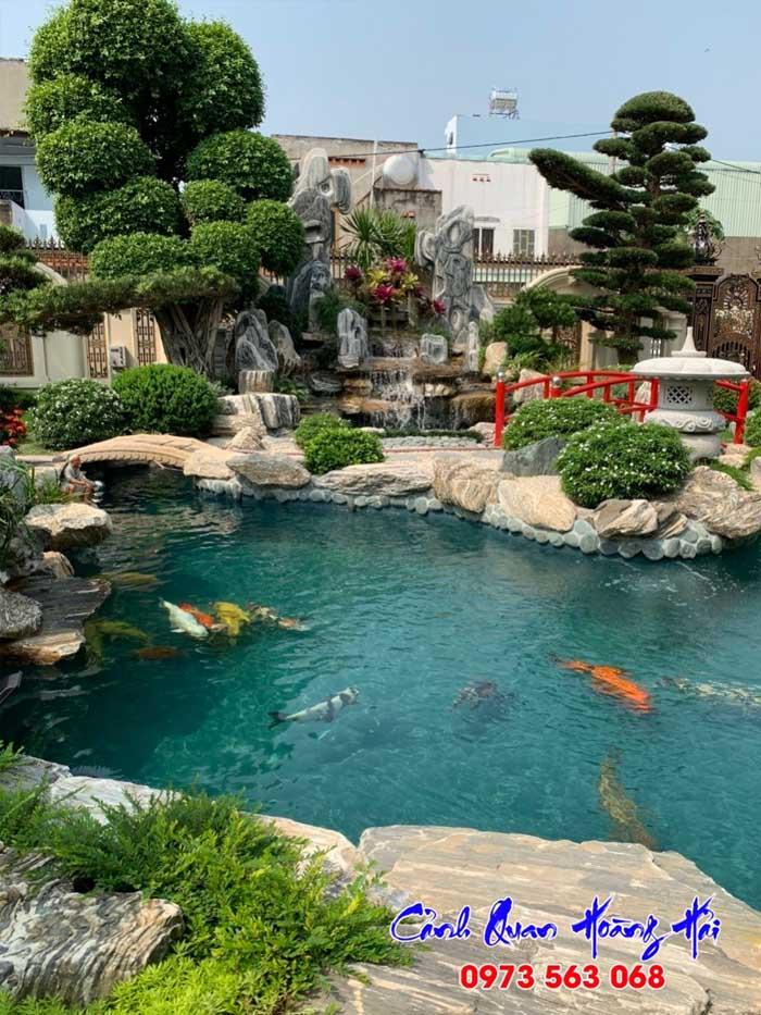 Hồ cá koi kiểu Nhật