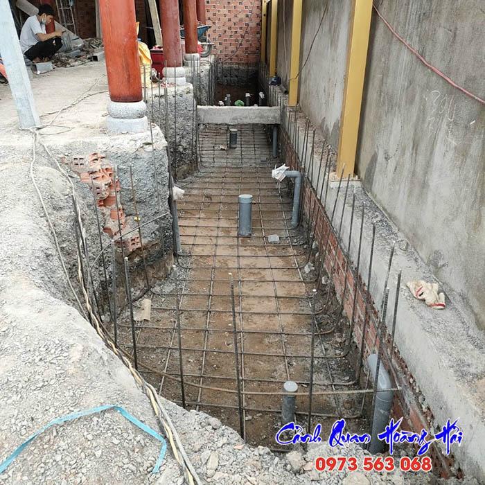 Kết cấu xây dựng hồ cá koi
