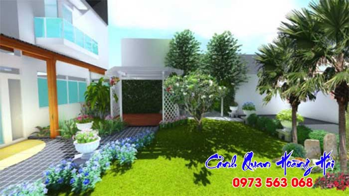 Lưu ý về trồng cây theo phong thủy trong sân vườn