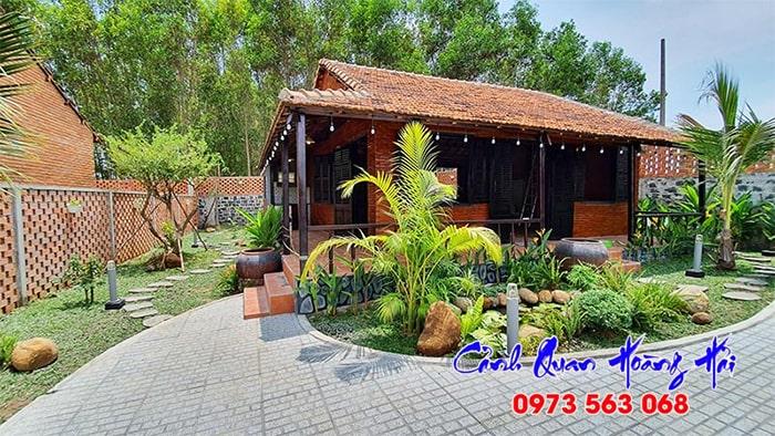 Mẫu sân vườn đồng quê Việt Nam - Cảnh Quan Hoàng Hải