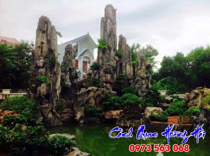 Phong thủy tiểu cảnh sân vườn theo Ngũ Hành