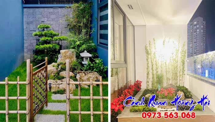 Tầm quan trọng của tiểu cảnh sân vườn trong nhà phố, biệt thự, chung cư