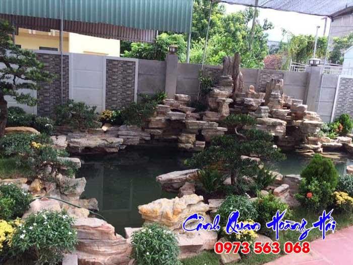 Thi công hồ cá koi tại Bình Phước