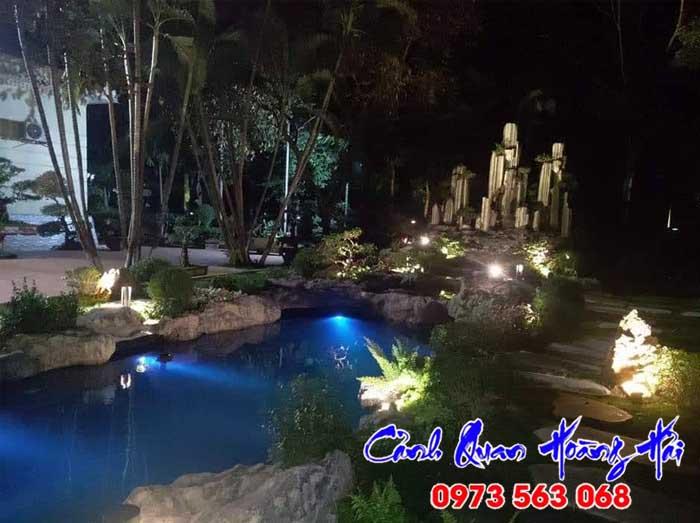 Thi công hồ cá koi tại Bình Thuận 01