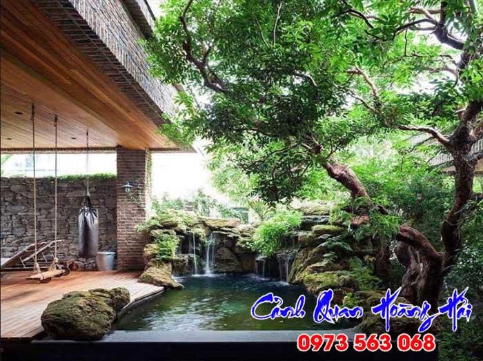 Thi công hồ cá koi tại Bình Thuận 02