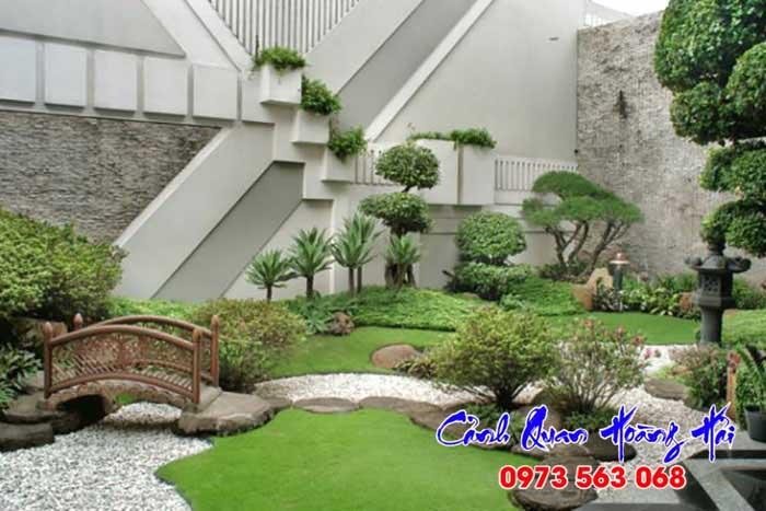 Thi công tiểu cảnh sân vườn phong cách Á Đông - Sân vườn Nhật Bản