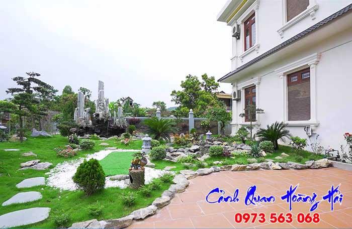 Thiết kế sân vườn đẹp Củ Chi - Hóc Môn