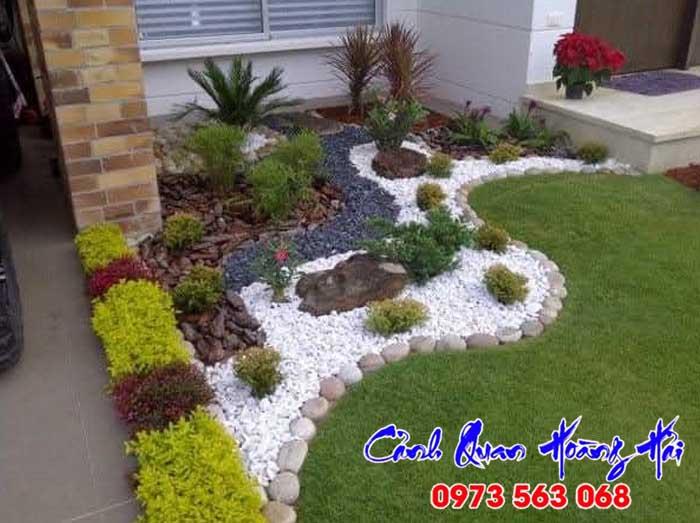 Thiết kế sân vườn theo phong thủy