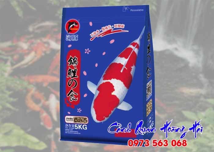 Thức ăn cá koi hiệu Porpoise 5kg