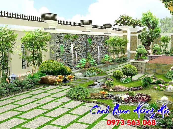 hướng thiết kế sân vườn theo phong thủy