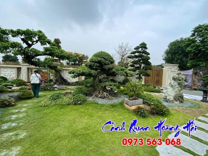 Mẫu sân vườn Nhật Bản 01
