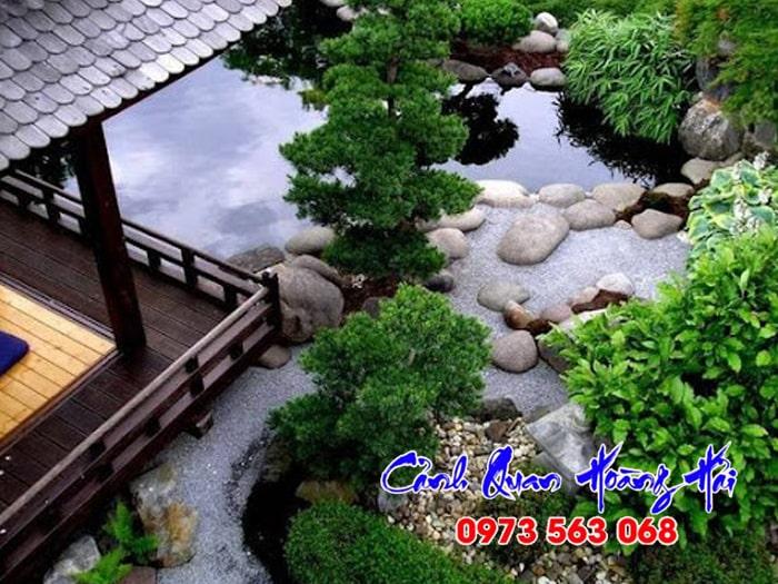 Sân vườn Nhật Bản phong cách Chaniwa