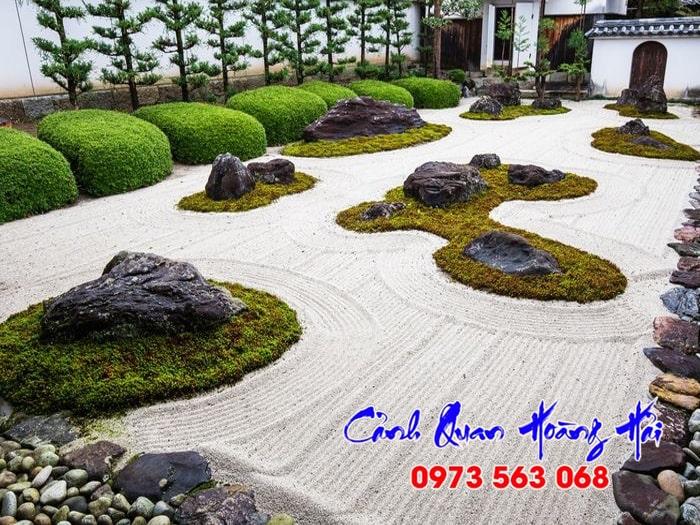 Sân vườn Nhật Bản phong cách Karesansui