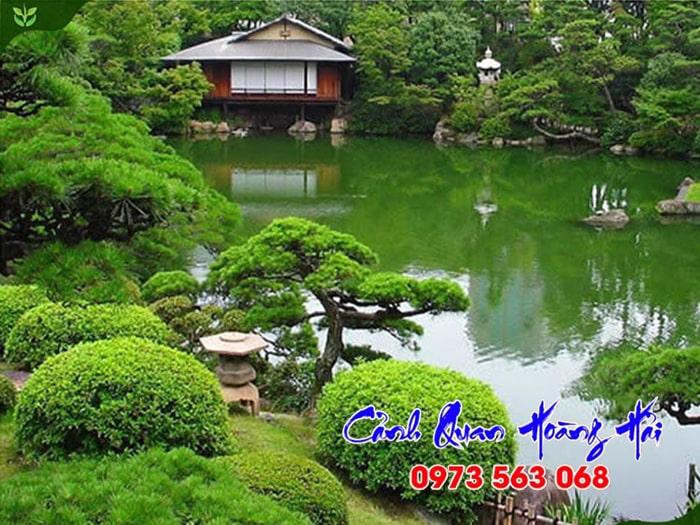 Sân vườn Nhật Bản phong cách Tsukiyama