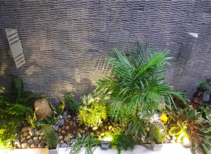 Tiểu cảnh sân vườn trong nhà 05