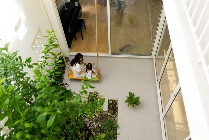 Tiểu cảnh sân vườn trong nhà 08