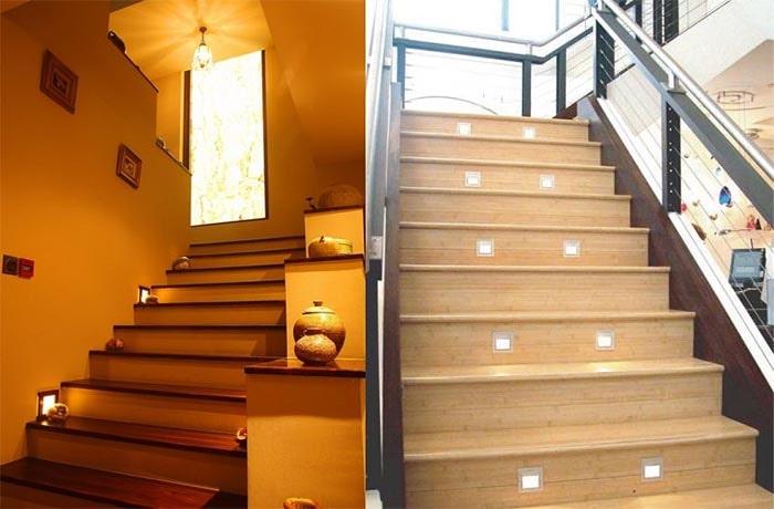 Đèn chiếu sáng cầu thang