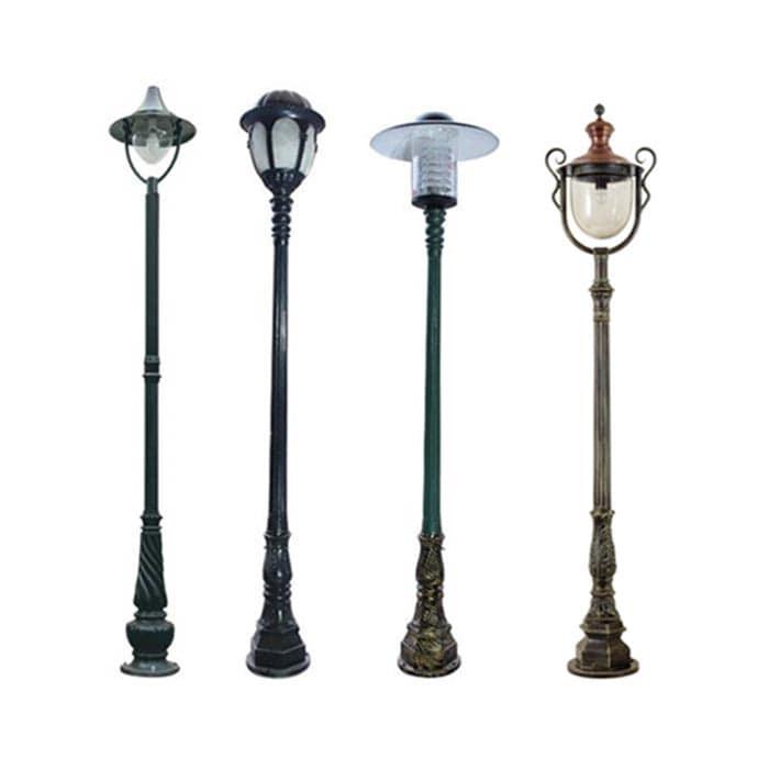 Đèn trụ sân vườn tầm cao